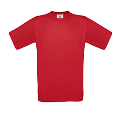 B&C Exact 150 T-Shirt - Deep Red