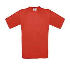 B&C Exact 150 T-Shirt - Red