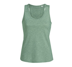 Stella Dreams Frauen Tank Top - Mid Heather Green