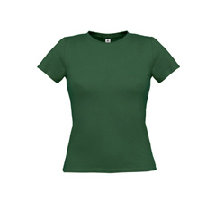 Women Only T-Shirt - Bottle Green