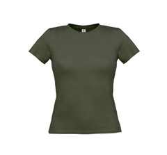 Women Only T-Shirt - Khaki